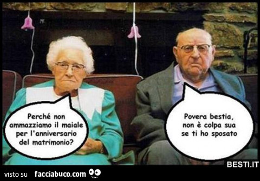 Anniversario Matrimonio Vignette.Perche Non Ammazziamo Il Maiale Per L Anniversario Del Matrimonio
